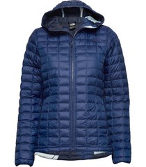 w thermoball eco hoo gevoerd jack blauw the north face