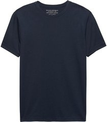 camiseta authentic crew azul banana republic