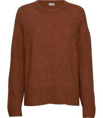 ana stickad tröja brun by malene birger