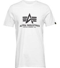 basic t-shirt t-shirts short-sleeved vit alpha industries