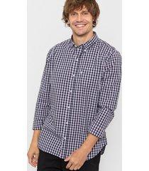 camisa violeta levis classic one pocket