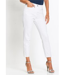 7/8 stretch jeans met kant