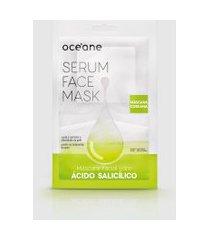 amaro feminino oceane máscara facial - serum face mask, ácido salicílico