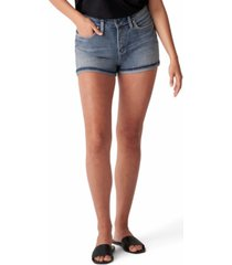 silver jeans co. avery high-rise denim shorts