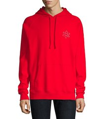 darti hooded reverse logo sweatshirt