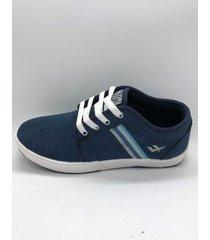 zapatilla azul one foot