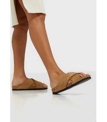 duffy slip in frill sandal sandaler