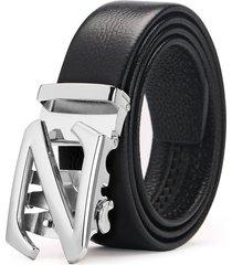cinturón hombre de diseñado para caballero cinturón-negro