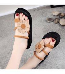 la moda femenina flip-flops desgaste zapatillas de playa verano flip flop sandalias de playa