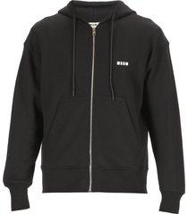 msgm hoodie with logo