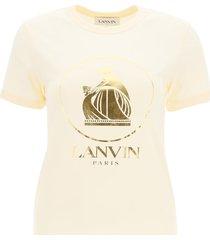 lanvin mère et lenfant logo t-shirt