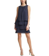 jessica howard petite embellished shift dress