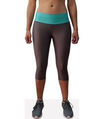 leggings corto deportivo mujer tykhe andrómeda gris oscuro