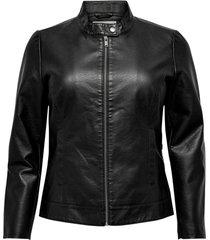 jacka carrobber faux leather jacket