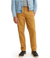 levi's men's tapered carpenter pants