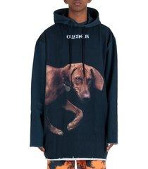 vyner articles hilma digital print dress hoodie