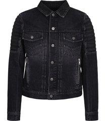 balmain branded jacket
