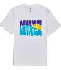 t-shirt korte mouw converse 10018864-a01