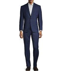 classic fit tonal plaid wool suit