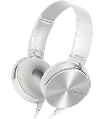diadema sony  extra bass xb450ap blanco