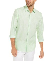 alfani men's classic-fit abstract plaid shirt, created for macy's