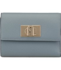 furla pebbled leather wallet