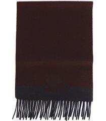 salvatore ferragamo cashmere blend wool scarf
