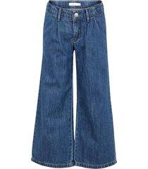 jeans wijd uitlopend culottes