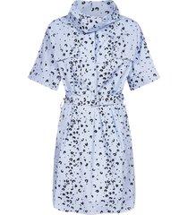 kenzo leopard print cotton dress