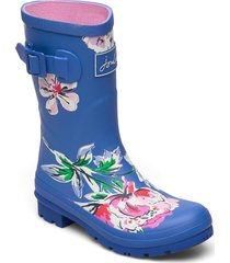 molly welly regnstövlar skor blå joules