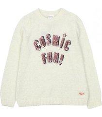 sweater cosmos crudo ficcus
