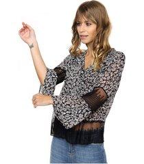 blusa negra laila emilia