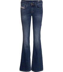 d-ebbey l.32 trousers jeans wijde pijpen blauw diesel women