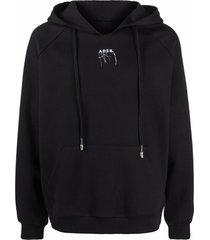 ader error logo drawstring hoodie