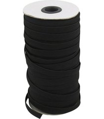1 rollo de alta plana elástica cinturón elástico blanco negro paseos a caballo