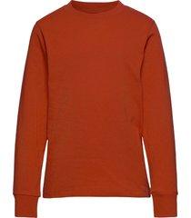 jorcourier tee ls crew neck jr t-shirts long-sleeved t-shirts röd jack & j s