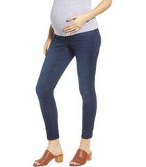 1822 denim sculpt ankle skinny maternity jeans, size 31 in marco at nordstrom