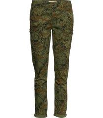 hurley camouflage cargo pant slimfit broek skinny broek groen mos mosh