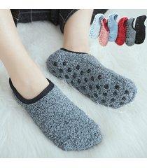 donne pavimento caldo spessore calze home fondo antiscivolo calze soft caviglia traspirante calze