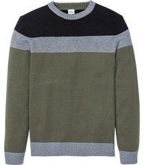 pullover regular fit (verde) - john baner jeanswear