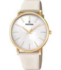 reloj boyfriend collection crema festina