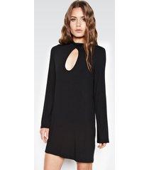 mercury keyhole dress - xs black