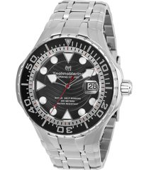 reloj technomarine modelo tm-118070 plata hombre