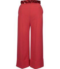 elisabetta franchi celyn b. cropped trousers