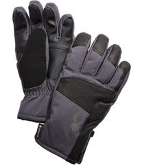 spyder leather gore-tex gloves