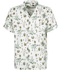 overhemd korte mouw levis nephrite olive night