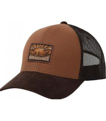 gorro truker canvas brown gnomo