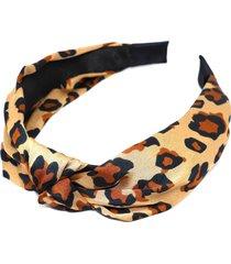 natasha leopard print headband