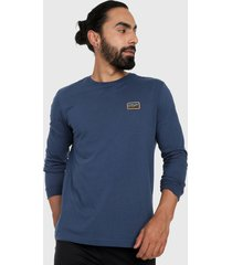 camiseta manga larga azul-naranja-amarillo oakley factory pilot