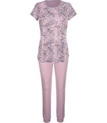 pyjama blue moon lila::ecru